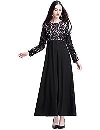 HUAN Falda del Vestido de Las Mujeres, Vestidos de Encaje de Malasia, Vestido de