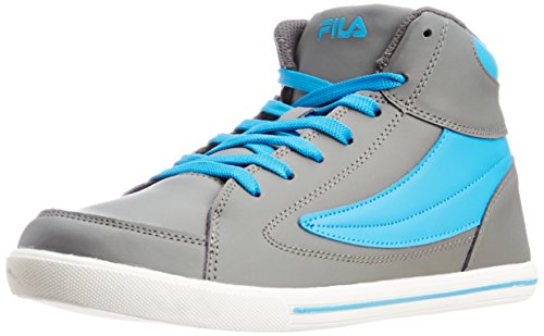 FILA Men's Street Mate Grey and Royal Sneakers – 8 UK/India (42 EU) 41lbi 2BefxhL