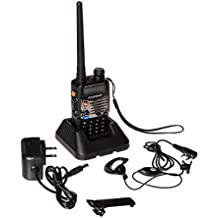 UV5RA Ham Two Way Radio 136-174/400-480 MHz Dual-Band Transceiver (Black)