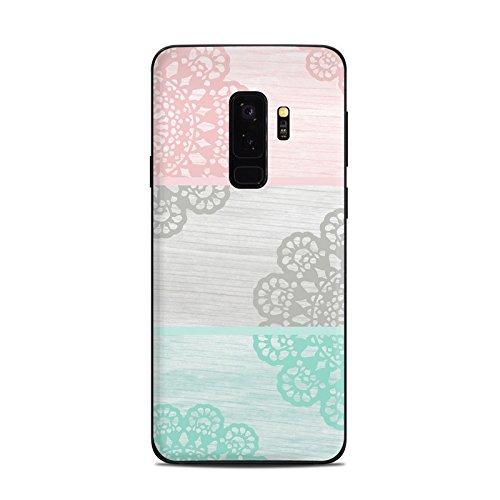 Skins4u DecalGirl Samsung Galaxy S9 PLUS Skin Design Premium Vinyl Aufkleber - Doily (Doily-design)