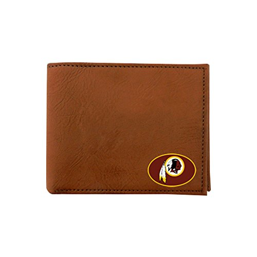 nfl-washington-redskins-classic-football-wallet-one-size-brown