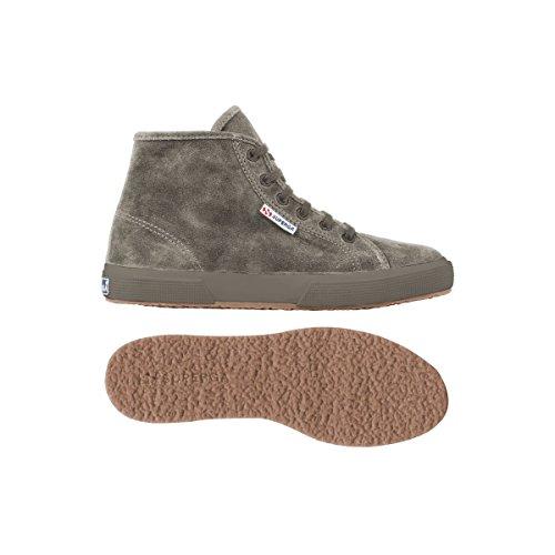 Superga 2095 SUEU Unisex-Erwachsene Hohe Sneakers Grey