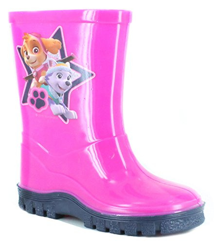 Boys Girls Official Paw Patrol Wellies Wellington Boots