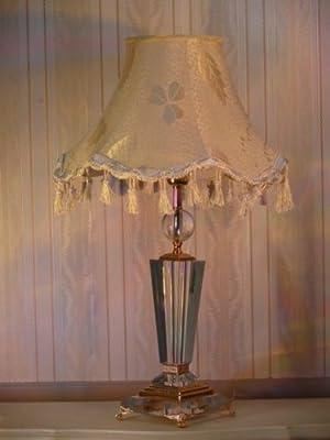 Barock Tisch-Leuchter Kristall Antik Stil Kristalllüster DtLa0823b von Dt - Lampenhans.de