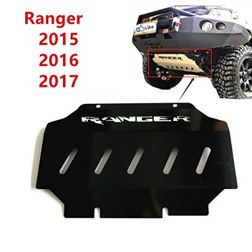 orun Skid Plate Guard vorne Motor Boden für Ford Ranger MK 201520162017schwarz