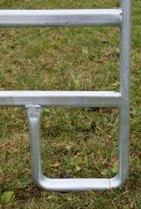 Kerbl Panel – Zaunelement 3,6 m mit Schnell-Kettenverschluss - 3