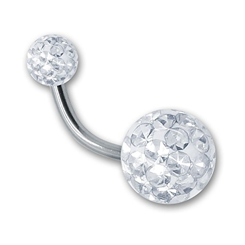 soulcatsr-navel-piercing-piercing-banana-with-crystal-ball-gel-epoxy-coating-rod-16-color-white-leng