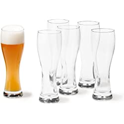 Vasos de cerveza grandes (6 unidades) Leonardo