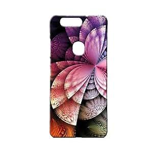 BLUEDIO Designer 3D Printed Back case cover for Huawei Honor V8 - G5257