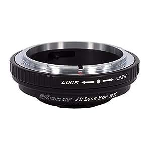 KECAY® Adattatore Obiettivo Lente Per Canon FD FL Mount Lente to Samsung NX Camera, NX1, NX3000, NX2000, NX300M, NX300, NX1000, NX210, NX200, NX30, NX20, NX5