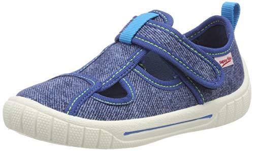 Superfit bill, pantofole a collo basso bambino, ((blau 80), 29 eu
