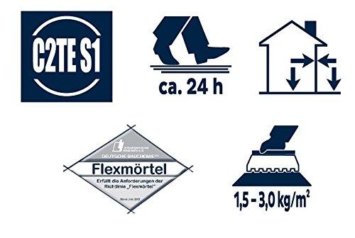 Bostik Ardaflex Flexmörtel Flex Fliesenkleber Dünnbettmörtel 25 kg Sack