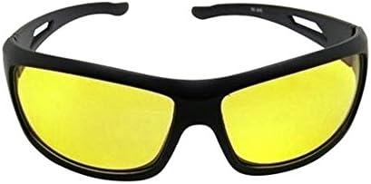 Nightdrive Driving Easy Day & Night Hd Vision Anti-Glare Polarized Women's/Men's Sunglasses(58,Yellow)