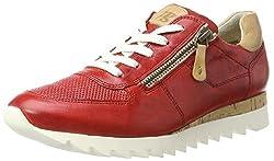 Paul Green Damen 4485021 Sneaker, Rot (Red), 37  EU (6.5US)