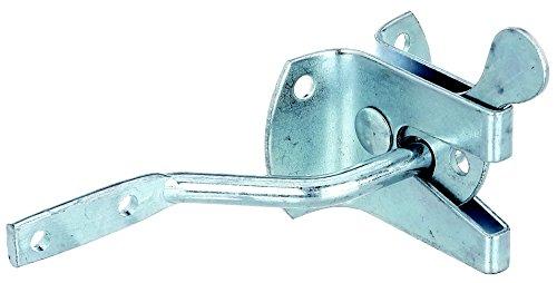 *Gah-Alberts 210182 Gartentorverschluss, Länge 50 mm, Plattenhöhe 45 mm, , galvanisch blau verzinkt*
