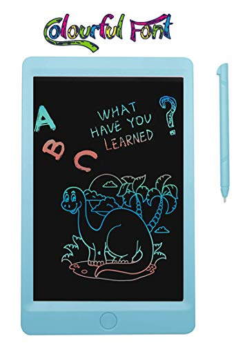 V.G Toys & Novelties Colourful Font 8.5 inch LCD Writing Tablets Doodle Board with Screen Lock Function, Drawing Pad for Kids/Adults (Colour May Vary)