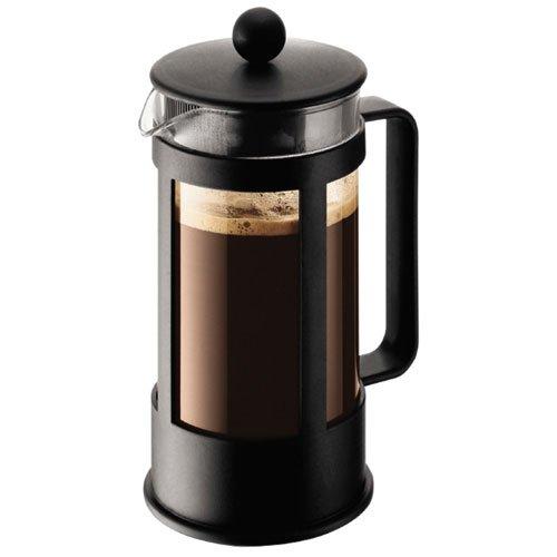 Bodum Kenya - Cafetera, 3 tazas, 0,35 l, color negro