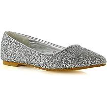 Suchergebnis auf für: glitzer ballerinas damen