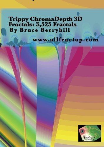 Trippy ChromaDepth 3D Fractals: 3,525 Fractals (Trippy Videos)