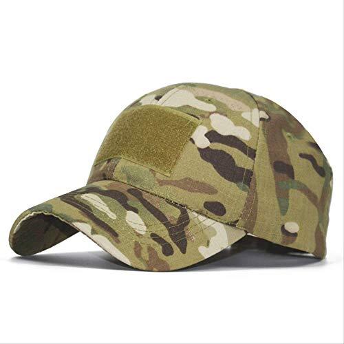 FENGFENG Sport Magic Sticker Camouflage Baseball Cap Außen Tactical Cap Sonnenhut Baseball Cap