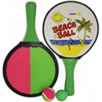 Garden Beach Paddle Tennis and Catch Bat and ball Set 15