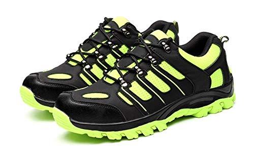 XIE Anti atmungsaktive Schuhe Fluoreszierende grün MIT Hilfe der Vier Jahreszeiten durchstichsichere schutzschuhc Absatz der Schuhe