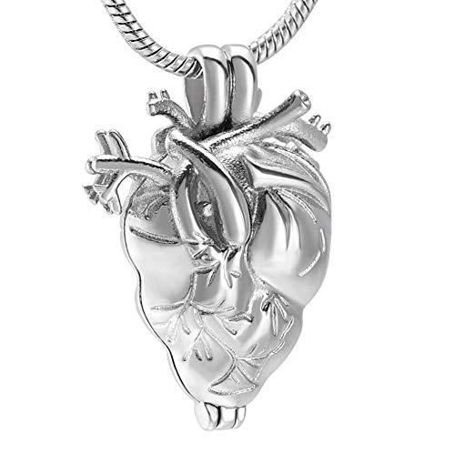 FZUNDX Herzform Anhänger Halskette Souvenir Ed -