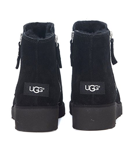34065528e54 Ugg Women's Shala Women's Leather Ankle Boot In Black Suede ...