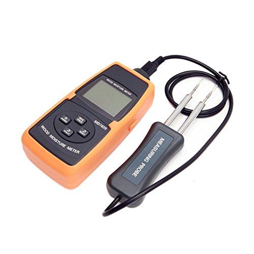 XINXI-YW LCD-Digital-Holzfeuchtigkeitsmesser 2% -60% Baum-Bauholz-hölzernes Bambuspapier-Wasser enthalten Niveau-Temperatur-Messungs-Werkzeuge MD7820