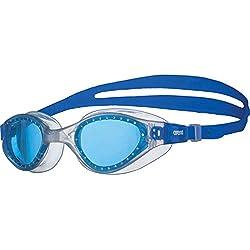 Arena Cruiser EVO Goggles, Adultos Unisex, Clear-Blue, TU
