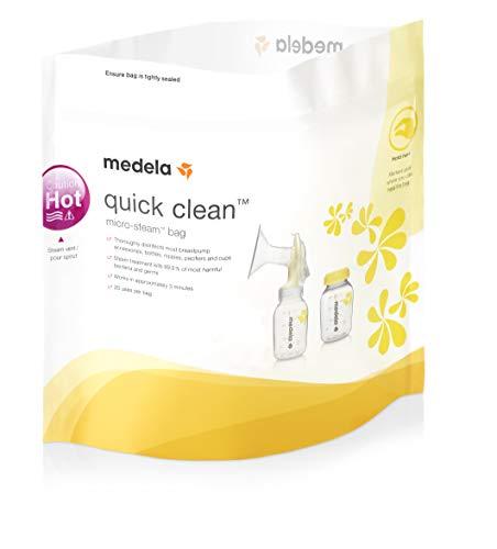 Quick Clean Mikrowellen-Beutel (5er Pack)