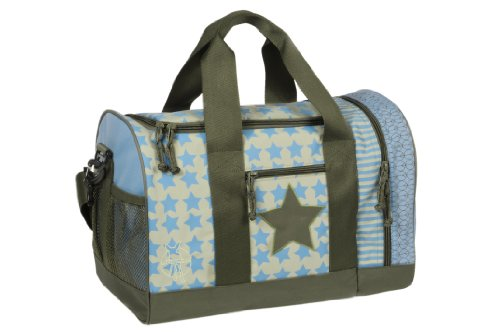 Lässig Mini Sportsbag Little Monsters, Bouncing Bob Kinder-Sporttasche, Navy Türkis blau (Starlight olive)