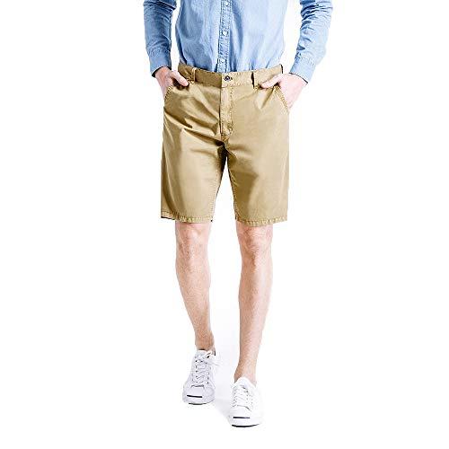 Aiserkly Herren Bermuda Shorts Herren Sport Shorts Freizeithose Kurze Hosen Cargohose Arbeitshose bis 38 Western Bootcut Pant