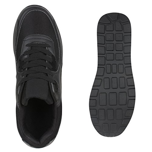 Stiefelparadies - Sneaker Donna Nero