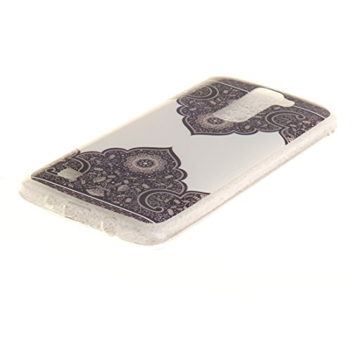 Cover Apple iPhone 7(4,7pollici), nancen Ultra Sottile Custodia morbida Custodia Cover TPU Silicone Case Cover di protezione Symétrie totem