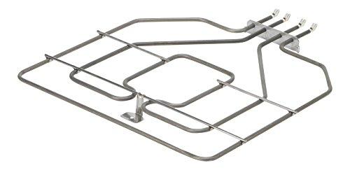 DREHFLEX - Oberhitze/Heizung/Heizelement - passend für diverse Bosch/Siemens/Neff/Constructa Herde/Backofen - passend für Teile-Nr. 00773539/773539 ersetzt 471369/00471369 - E.G.O