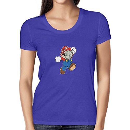 NERDO Mario Face Hug - Damen T-Shirt, Größe -