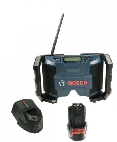 Preisvergleich Produktbild Bosch Soundset Akkuradio GML 10,8V-Li + 1x Akku 10,8V - 2,0 Ah + Ladegerät AL1130 CV