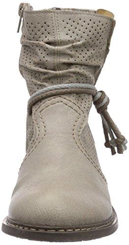 Rieker Z4166 Damen Halbschaft Stiefel Weiß (offwhite / 80)