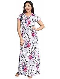 99475d301892 Soulemo Serina Satin Nighty Night Gown Nightwear Nightdress Feeding Nighty  with 13