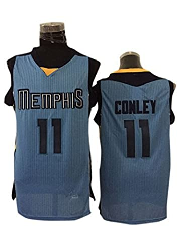 Grizzlie 11 Mike Conley Light Blue New Revolution 30 Jersey Size-M by Simona