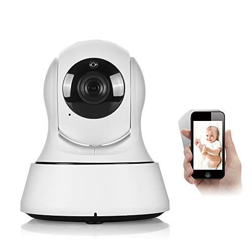 Jenify Home Baby Monitor Fotocamera Video Wi-Fi Wireless Mini Network Camera sorveglianza 720P Visione Notturna