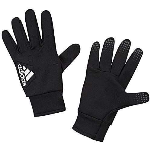 adidas Erwachsene Fieldplayer CP Soccer Gloves, Black/White, 9