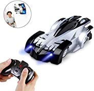 AMERTEER Remote Control Car,Electric Toy RC Cars on the Wall, Dual Mode 360°Rotating Stunt Rechargeable High S