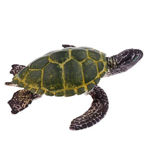 T TOOYFUL Kunststoff Meerestier Tier Figuren Wildtiere Modell Kinder Spielzeug Sammlung - Schildkröte
