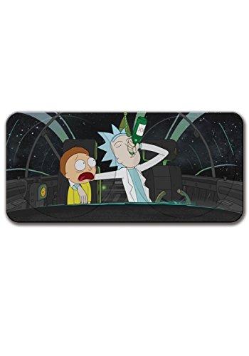 Rick y Morty coche parabrisas Parasol parabrisas–se adapta a la mayoría–Looks Like Rick del espacio Cruiser