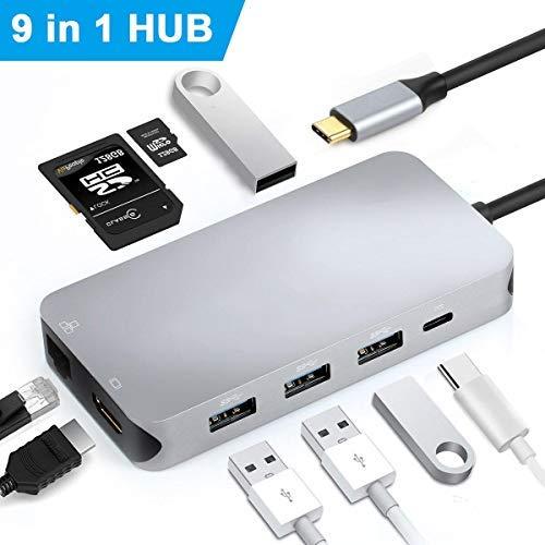Excuty Concentrador USB C