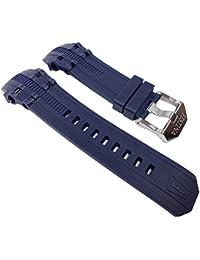 Festina F16601/1-Band - Correa para reloj, caucho, color azul