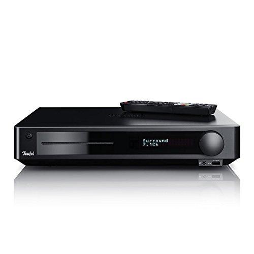 Teufel Impaq 8000 7.1 Blu-ray AV-Receiver 4K 3D HDMI DLNA Bluetooth NFC LAN USB MKV wireless subwoofer DTS Dolby Digital HD (Dock-bluetooth-sender)