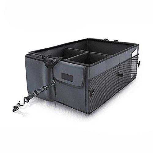 LPY-Kofferraum Organizer von Super Strong & Durable, zusammenklappbar, Cargo Aufbewahrungsbox für Auto, LKW, SUV (Lkw-bett-werkzeug-speicher)